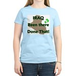 Iraq Been There Done That x3 Women's Pink T-Shirt