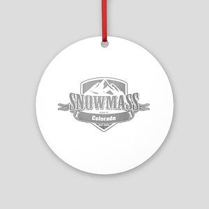 Snowmass Colorado Ski Resort 5 Ornament (Round)