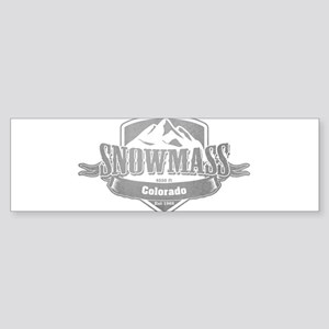 Snowmass Colorado Ski Resort 5 Bumper Sticker