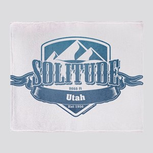Solitude Utah Ski Resort 1 Throw Blanket