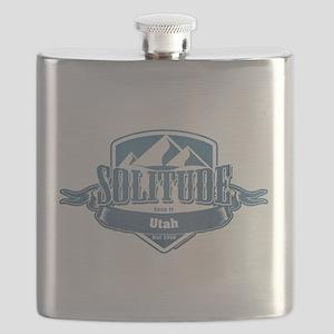 Solitude Utah Ski Resort 1 Flask