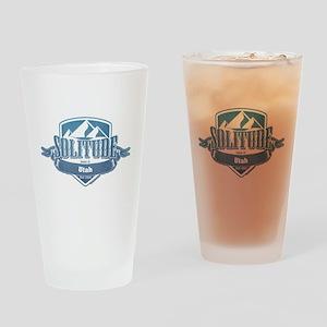 Solitude Utah Ski Resort 1 Drinking Glass