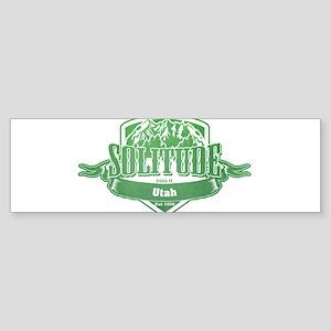 Solitude Utah Ski Resort 3 Bumper Sticker