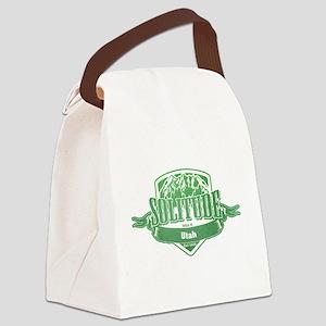 Solitude Utah Ski Resort 3 Canvas Lunch Bag