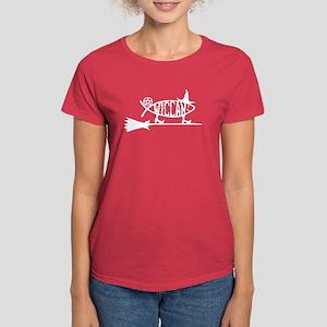 """""""Wiccan Evolution"""" Women's Dark T-Shirt"""