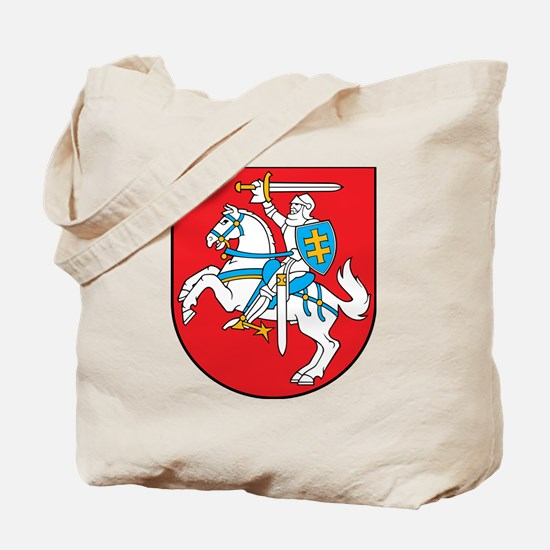 Cute Lithuanian flag Tote Bag
