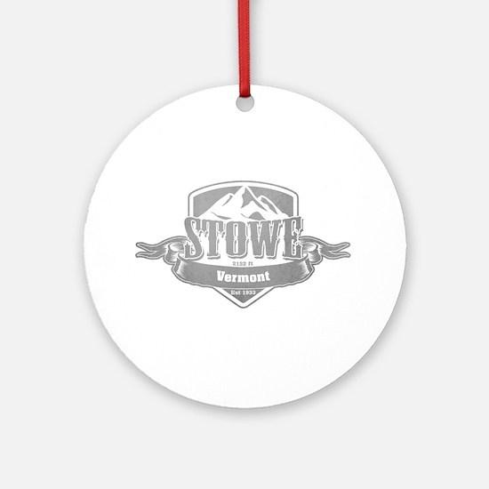 Stowe Vermont Ski Resort 5 Ornament (Round)