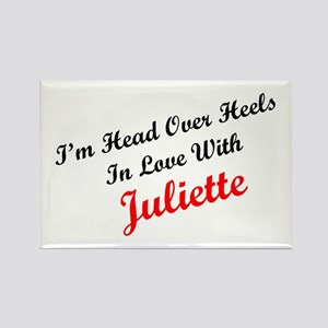 In Love with Juliette Rectangle Magnet