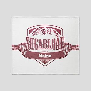 Sugarloaf Maine Ski Resort 2 Throw Blanket