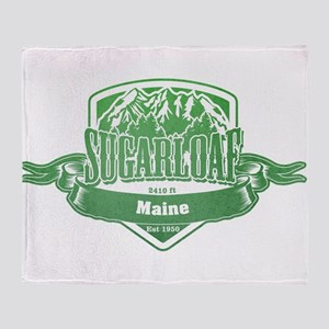Sugarloaf Maine Ski Resort 3 Throw Blanket
