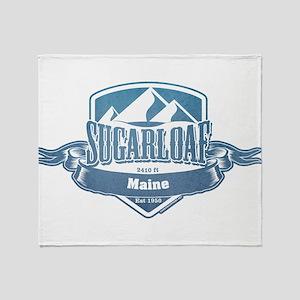 Sugarloaf Maine Ski Resort 1 Throw Blanket