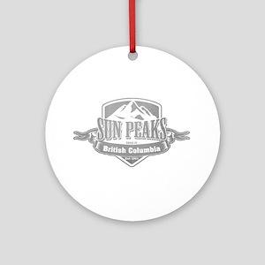 Sun Peaks British Columbia Ski Resort 5 Ornament (