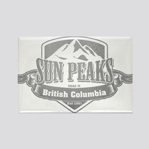 Sun Peaks British Columbia Ski Resort 5 Magnets