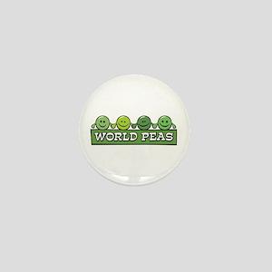 World Peas Mini Button