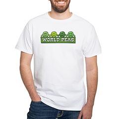 World Peas White T-Shirt