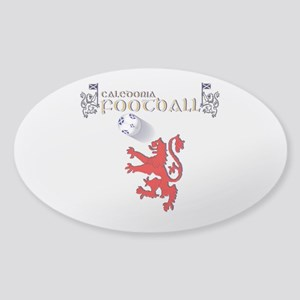 Caledonia lion football Sticker