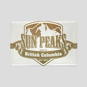 Sun Peaks British Columbia Ski Resort 4 Magnets