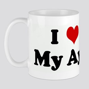 I Love My Aya Mug