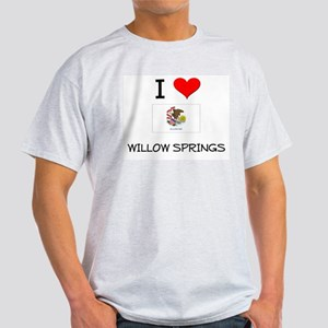 I Love WILLOW SPRINGS Illinois T-Shirt