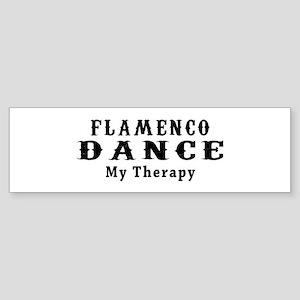 Flamenco Dance My Therapy Sticker (Bumper)