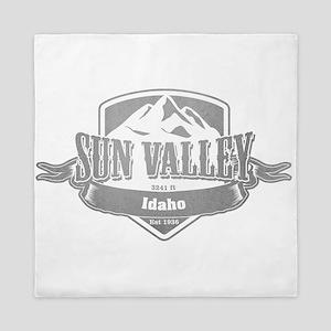 Sun Valley Idaho Ski Resort 5 Queen Duvet