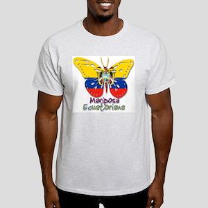 Mariposa Ecuatoniana Ash Grey T-Shirt