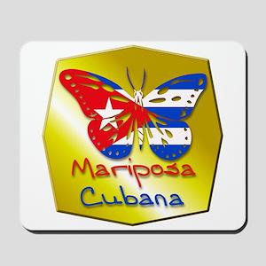 Mariposa Cubana Mousepad