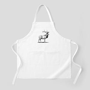 Elk Sketch Apron