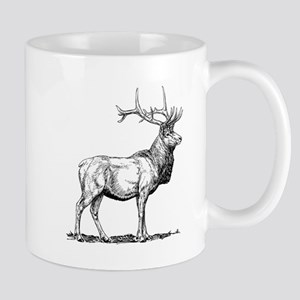 Elk Sketch Mugs