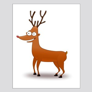 Funny Deer Poster Design