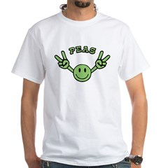 Peas White T-Shirt