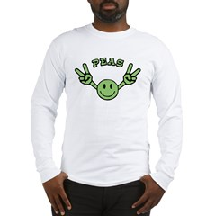 Peas Long Sleeve T-Shirt
