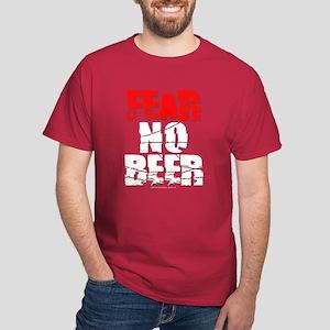 Fear No Beer Dark T-Shirt