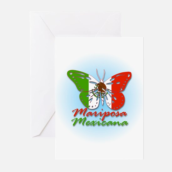 Mariposa Mexicana Greeting Cards (Pk of 10)