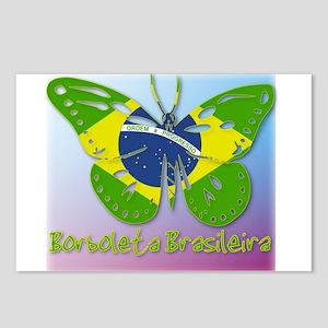 Borboleta Brasileira Postcards (Package of 8)