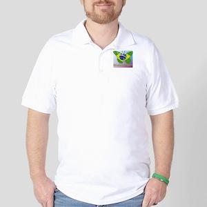 Borboleta Brasileira Golf Shirt