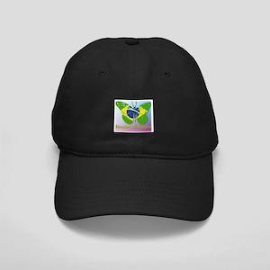 Borboleta Brasileira Black Cap