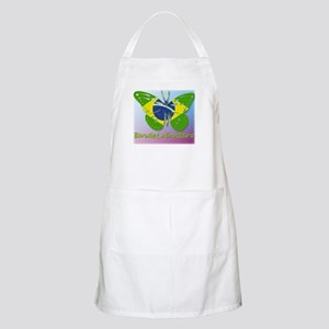 Borboleta Brasileira BBQ Apron