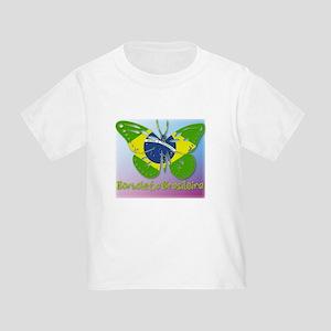 Borboleta Brasileira Toddler T-Shirt