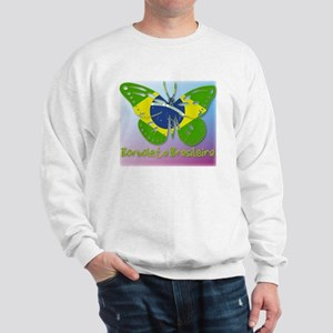Borboleta Brasileira Sweatshirt