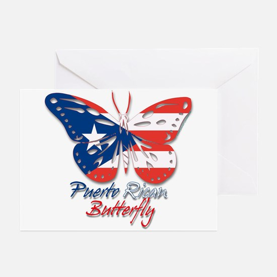 Puerto Rican Butterfly Greeting Cards (Package of