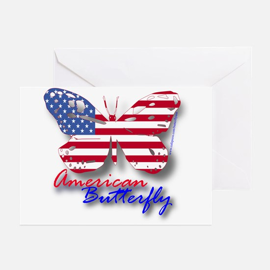 American Butterfly Greeting Cards (Pk of 10)