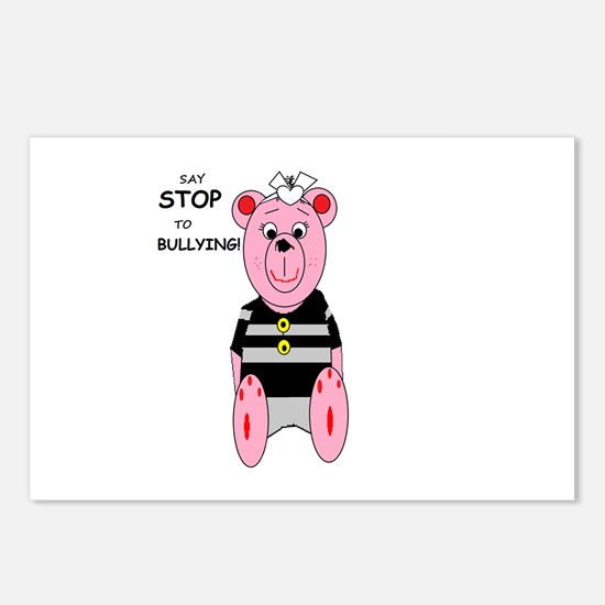 Say Stop to Bullying Postcards (Package of 8)