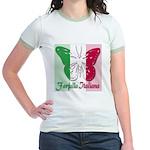 Farfalla Italiana Jr. Ringer T-Shirt