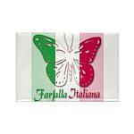 Farfalla Italiana Rectangle Magnet (100 pack)
