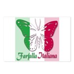 Farfalla Italiana Postcards (Package of 8)