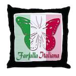 Farfalla Italiana Throw Pillow