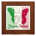 Farfalla Italiana Framed Tile