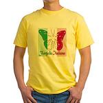 Farfalla Italiana Yellow T-Shirt