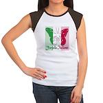 Farfalla Italiana Women's Cap Sleeve T-Shirt